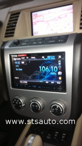 nissan murano radio doble din pioneer avh 4400bt sts auto. Black Bedroom Furniture Sets. Home Design Ideas