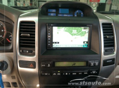 toyota land cruiser 2009 pioneer avic f980bt doble din navegacion dvd sts auto. Black Bedroom Furniture Sets. Home Design Ideas